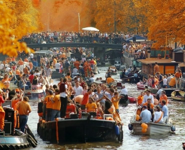 King's Day Amsterdam Boat Party