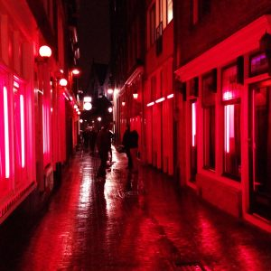 Amsterdam Red Light District Photoshoot