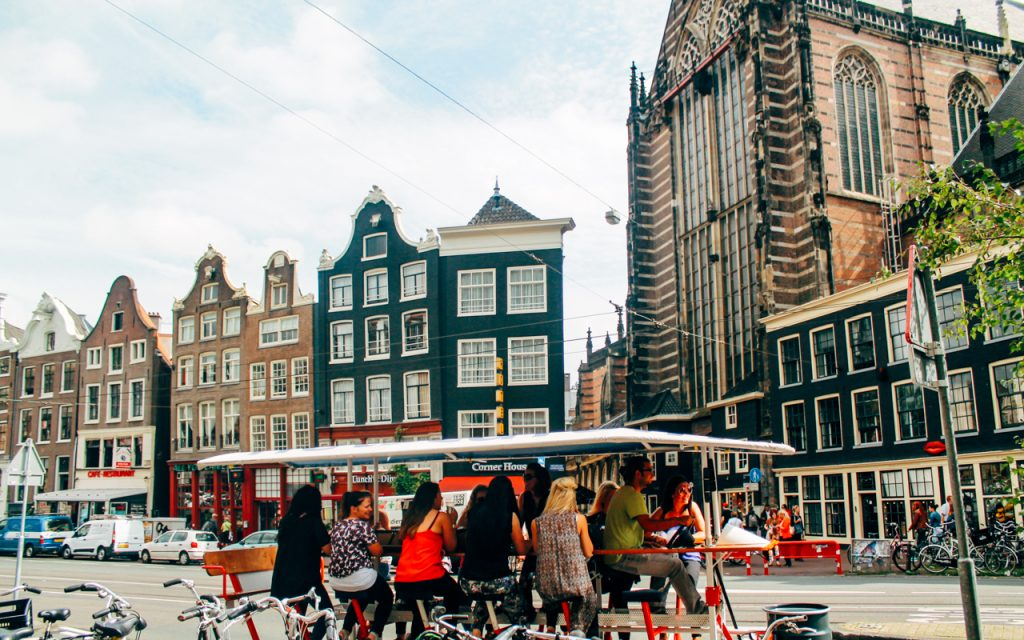 Amsterdam Beer Bike and Boat Tour