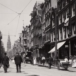The Jodenbreestraat, the heart of the Jewish Quarter